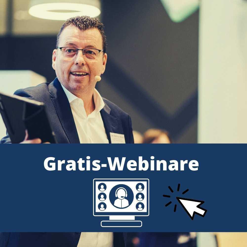 Gratis-Webinare für die Online-Beratung