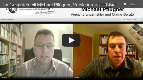 Im Gespräch mit Michael Pflügner, Online-Versicherungsmakler