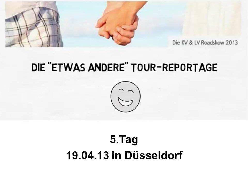 Tag 5 in Düsseldorf :-)