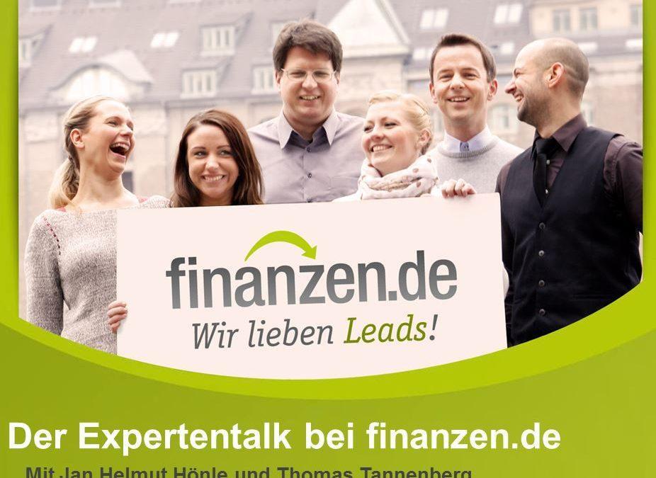 Expertentalk mit Thomas Tannenberg von Finanzen.de