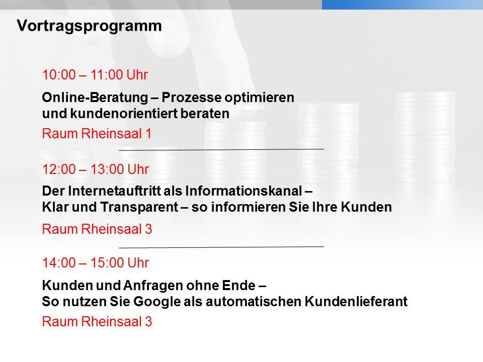 Vortragsprogramm
