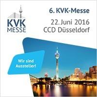 Gratis-Live-Demo an der 6.KVK-Messe in Düsseldorf