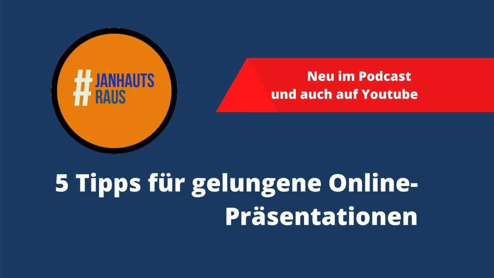 5 Tipps für gelungene Online-Präsentationen