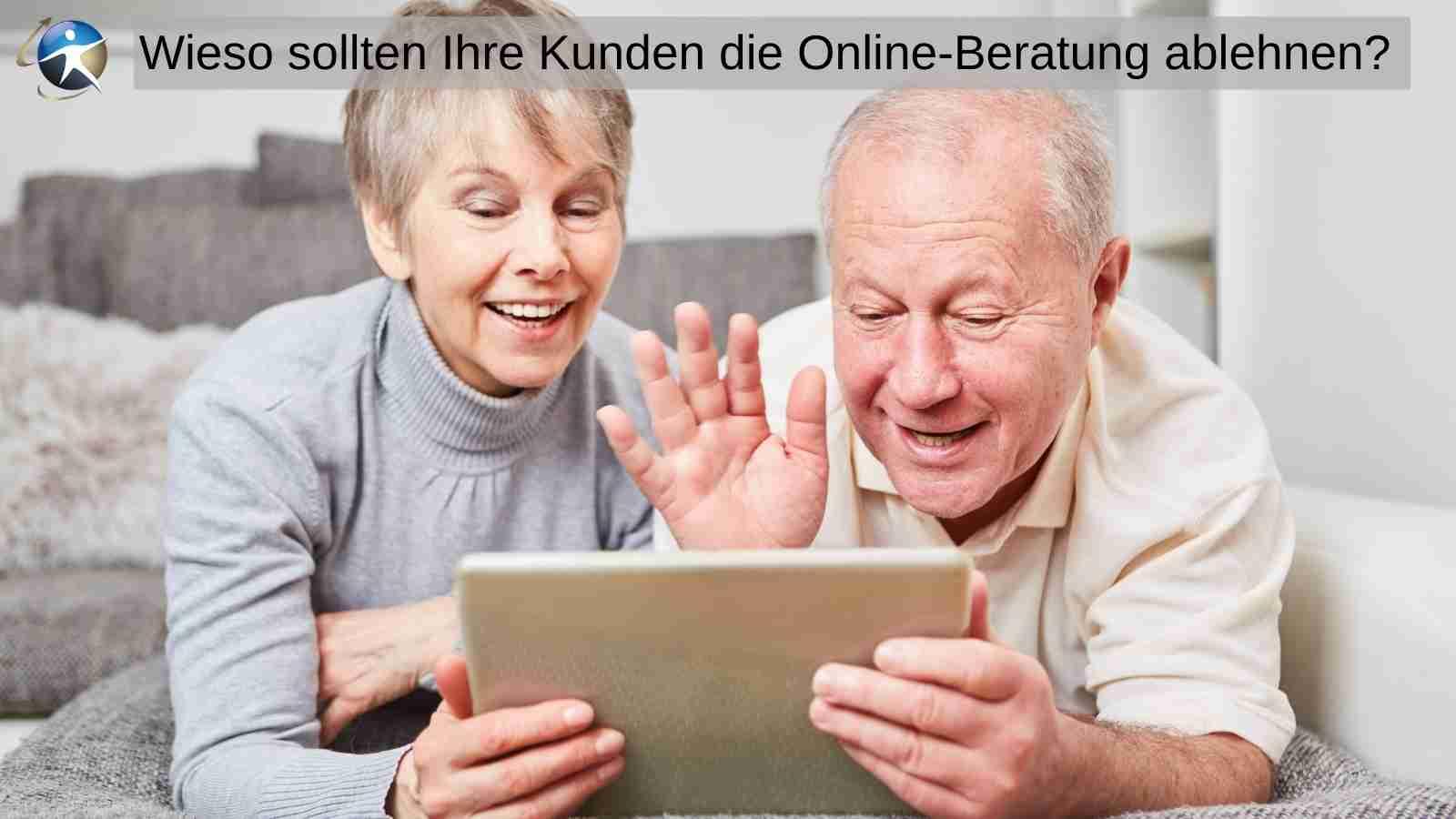 Auch ältere Kunden wissen Online-Beratung zu schätzen
