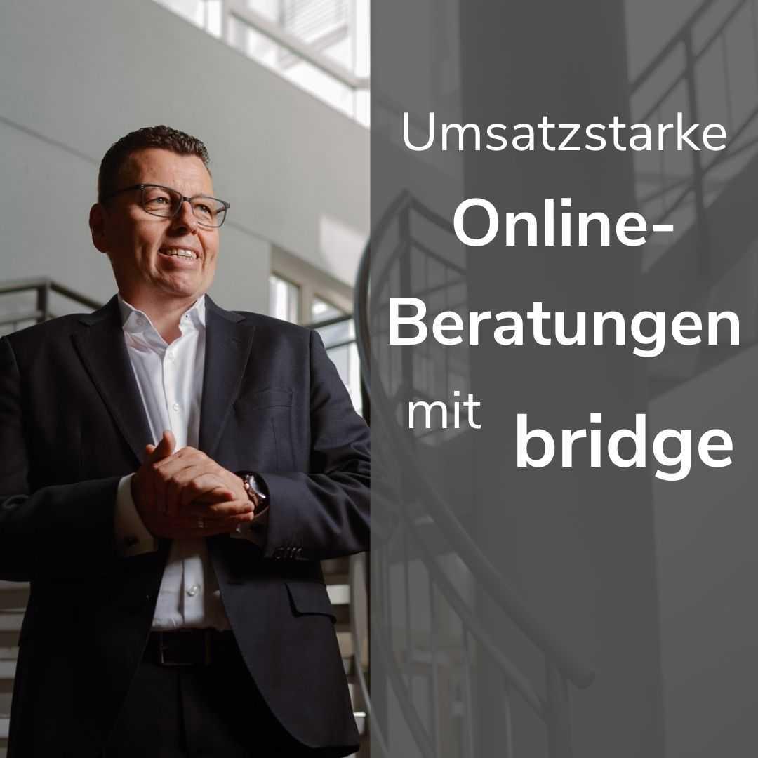 Online-Workshop mit bridge exklusiv für Fonds Finanz