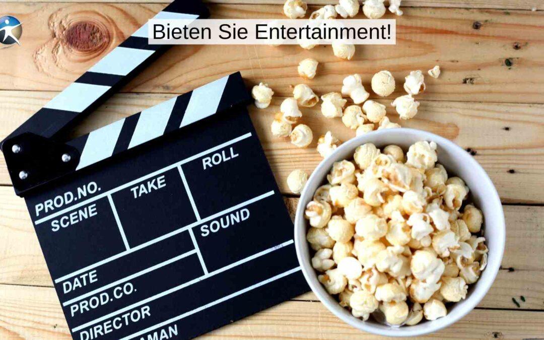 Entertainment und Online-Beratung schließen sich nicht aus
