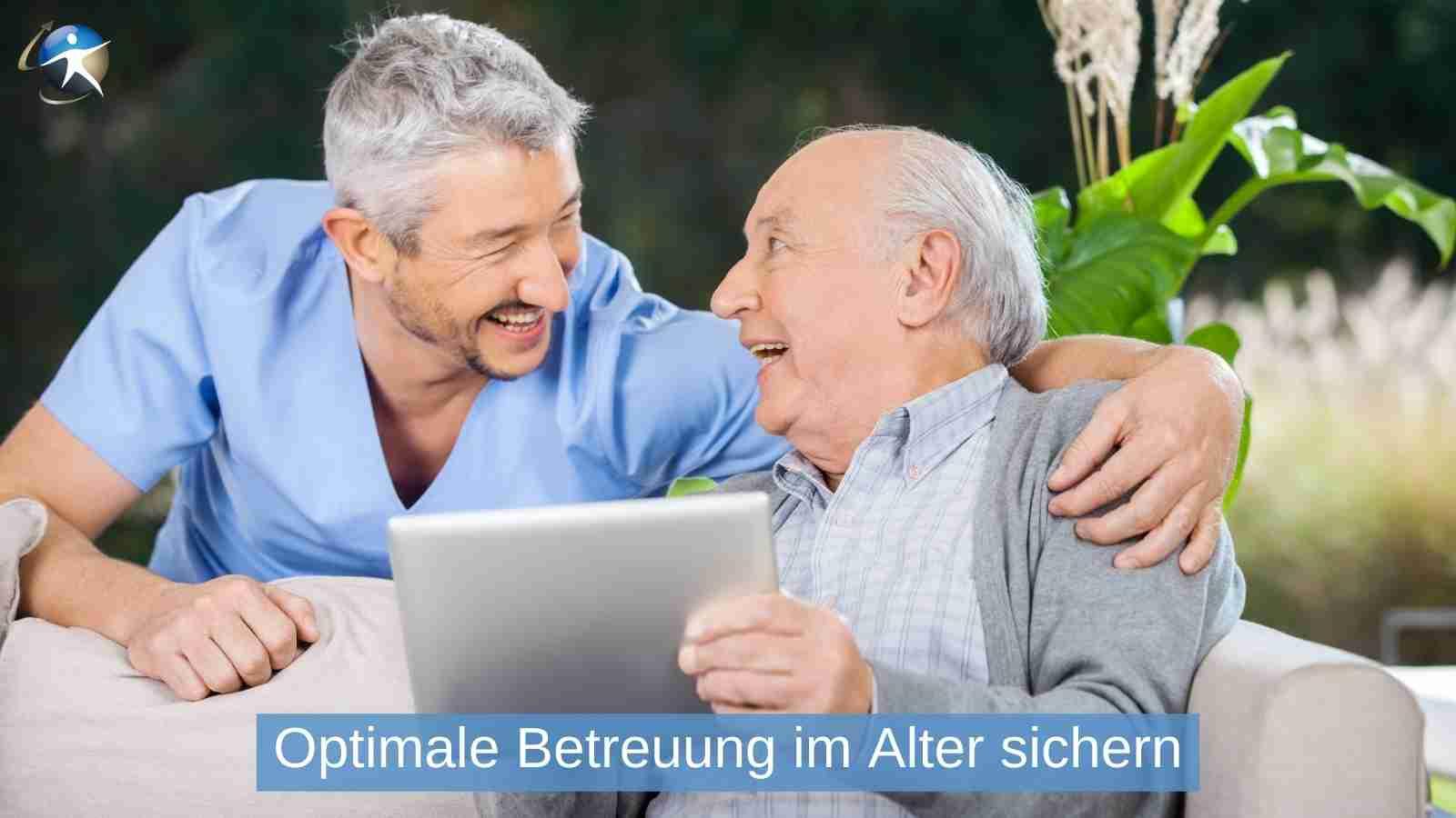 Helfen Sie Ihren Kunden mit Online-Beratung für den Pflege-Fall vorzusorgen
