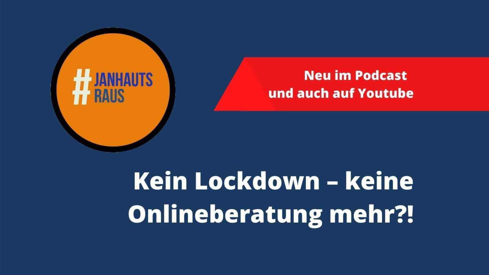 Kein Lockdown – keine Onlineberatung mehr!