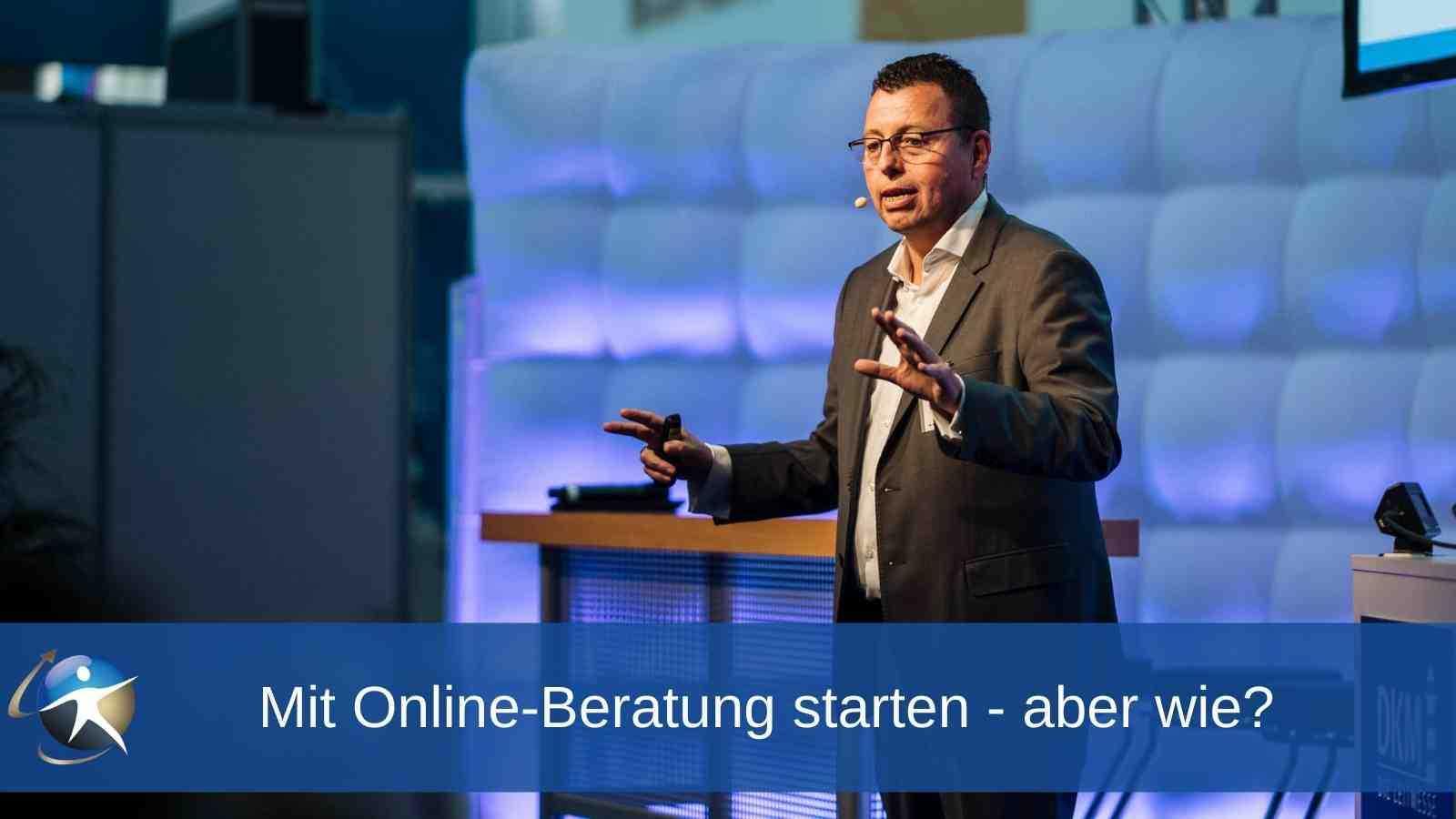 Mit Online-Beratung starten - aber wie
