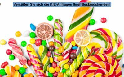KfZ-Versicherung: Dank Online-Beratung das Zuckerl im Jahresendgeschäft!