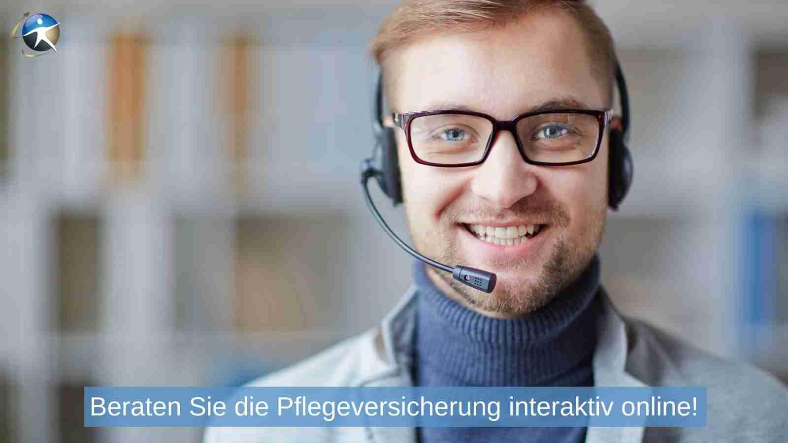 Nutzen Sie die Online-Beratung für die Pflegeversicherung