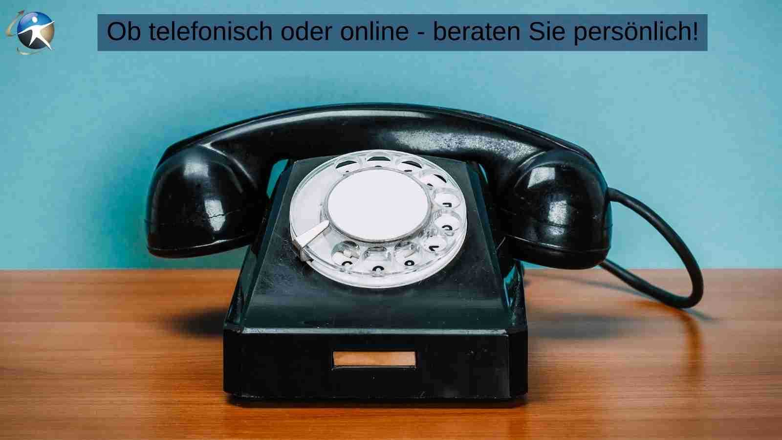 Ob Online-Beratung oder Telefongespräch - gestalten Sie es persönlich