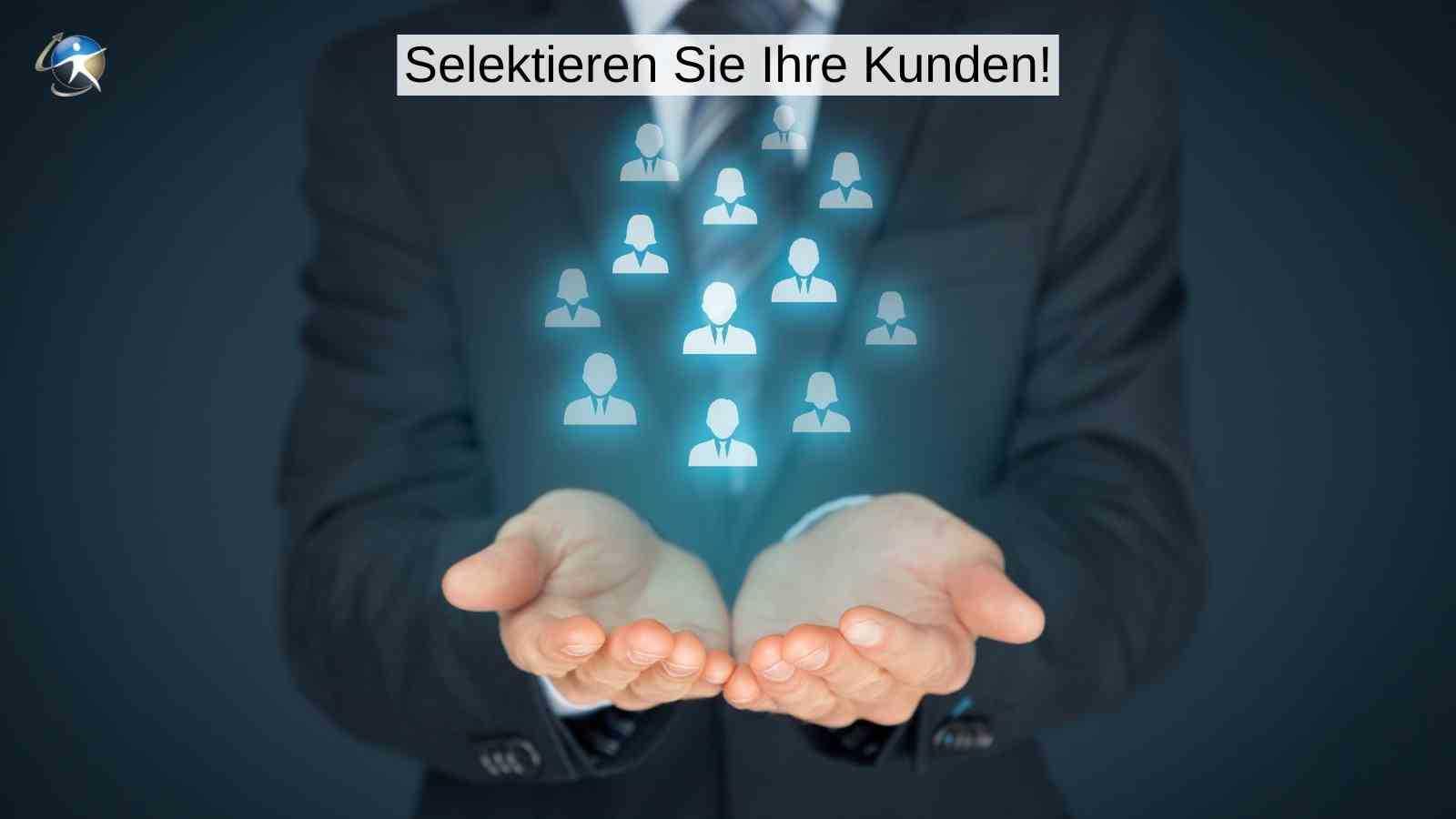 Selektieren Sie Ihre Kunden mit der Online-Beratung