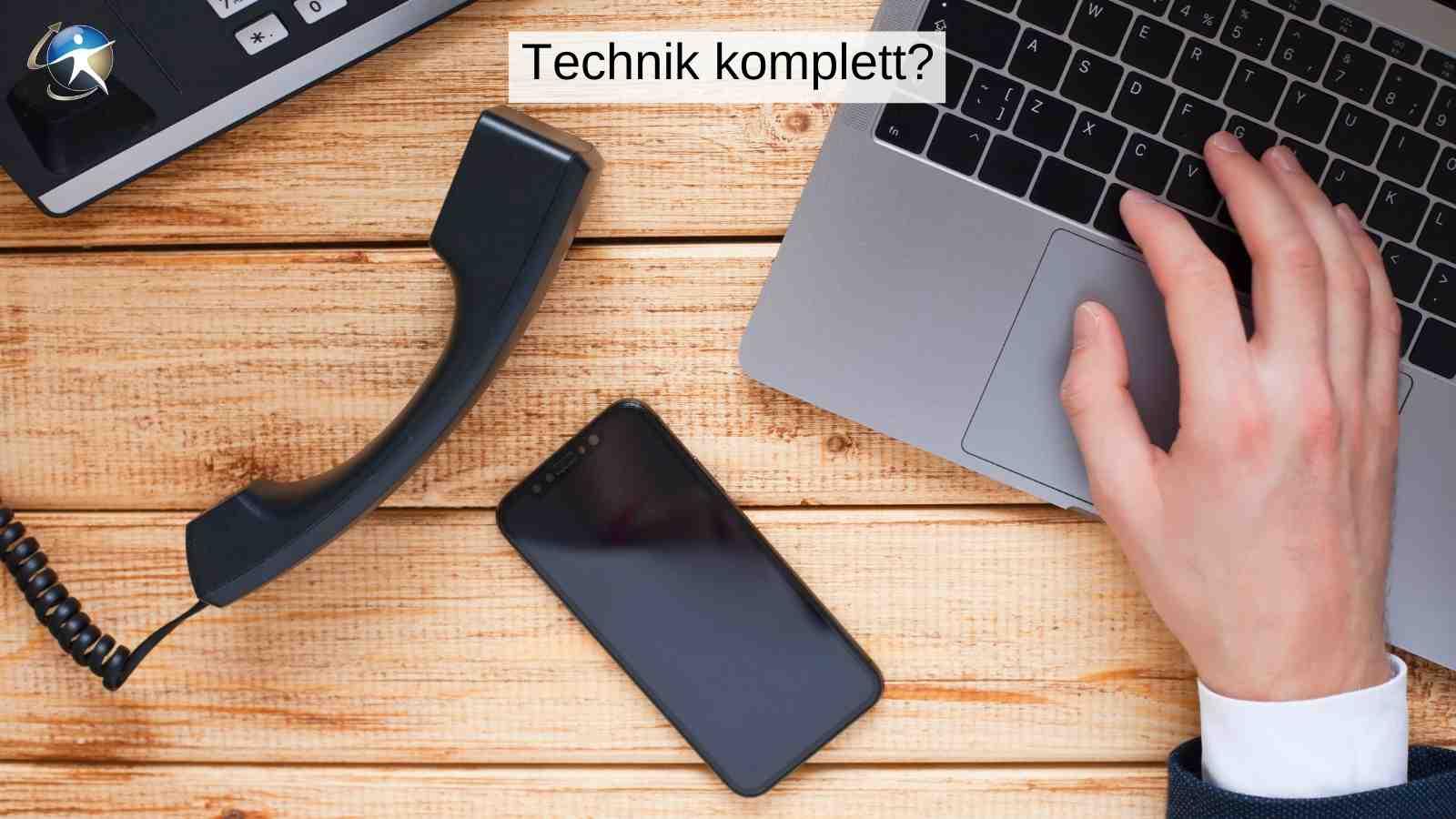 Sie brauchen nicht viel Technik für die Online-Beratung
