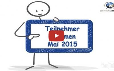 Teilnehmermeinungen vom Mai 2015 zur Videoberatung und Onlineberatung