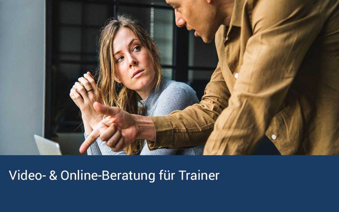 Video- & Online-Beratung für Trainer